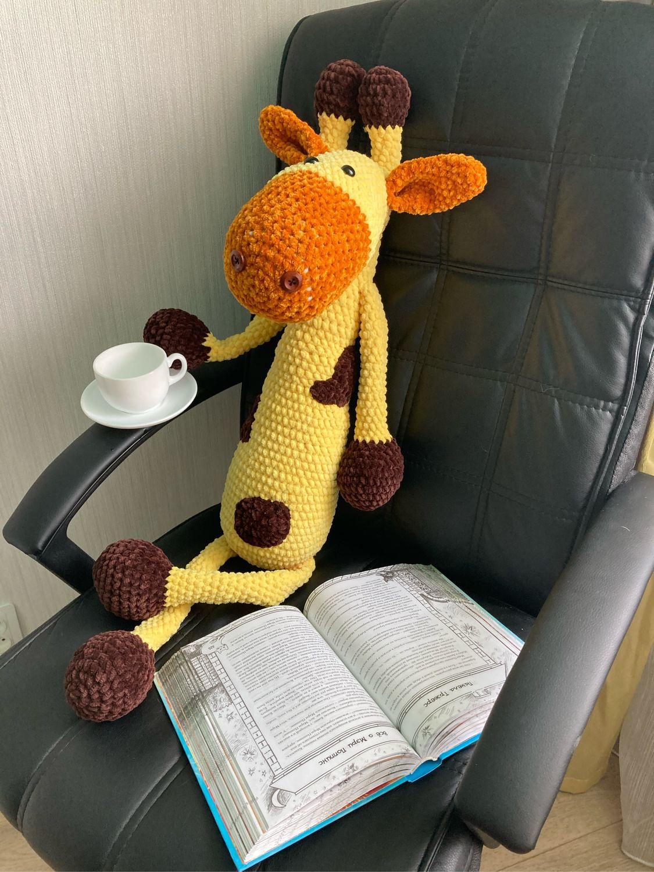 Жираф амигуруми, Мягкие игрушки, Хабаровск,  Фото №1