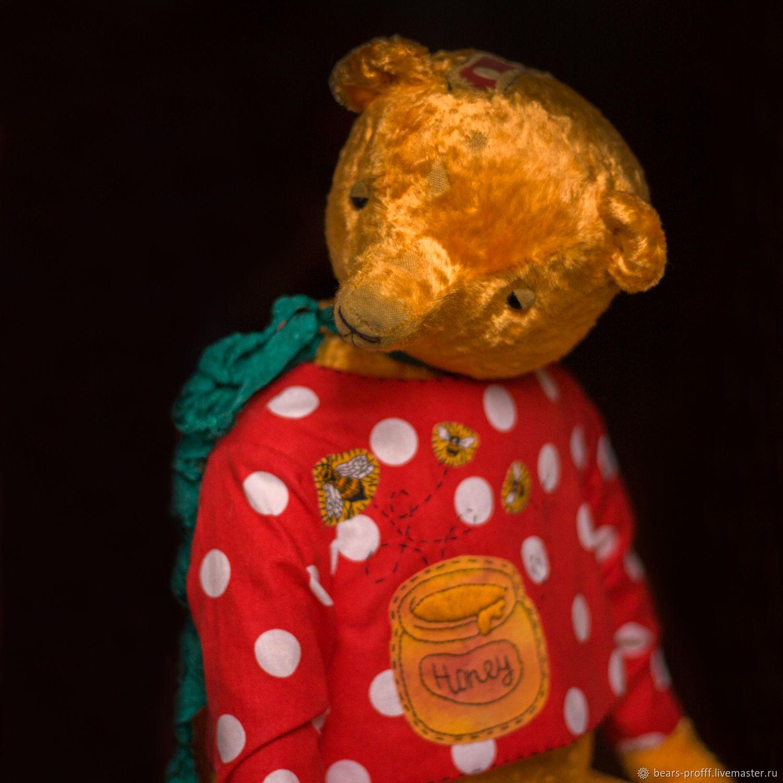 Мишки Тедди ручной работы. Ярмарка Мастеров - ручная работа. Купить Винни ДЫркль. Handmade. Желтый, плюш, винни