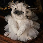 Куклы и игрушки ручной работы. Ярмарка Мастеров - ручная работа Ежик Робиния (8cm). Handmade.