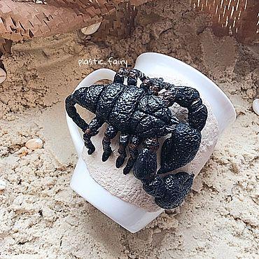 Посуда ручной работы. Ярмарка Мастеров - ручная работа Кружка со скорпионом. Handmade.