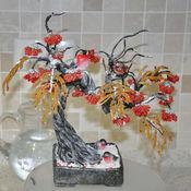 Для дома и интерьера ручной работы. Ярмарка Мастеров - ручная работа Рябиновый бонсай. Handmade.