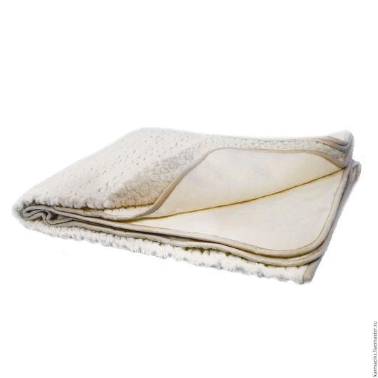 Текстиль, ковры ручной работы. Ярмарка Мастеров - ручная работа. Купить Одеяло, шерсть Мериноса РОЗЕТТА. Handmade. Шерсть