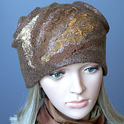 Аксессуары handmade. Livemaster - original item Hat felted feminine.... Handmade.