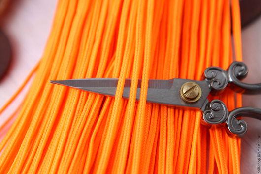 Для украшений ручной работы. Ярмарка Мастеров - ручная работа. Купить Турецкий сутаж 3 мм Апельсин ( 3 метра ). Handmade.
