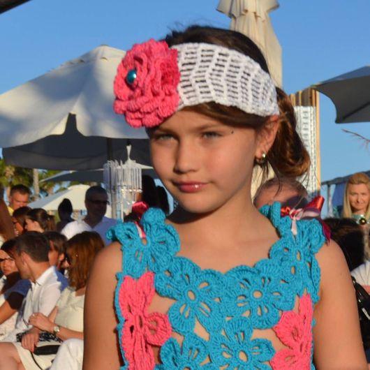 Одежда для девочек, ручной работы. Ярмарка Мастеров - ручная работа. Купить Платье на девочку вязаное. Handmade. Модная одежда