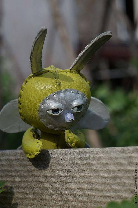 Игрушки животные, ручной работы. Ярмарка Мастеров - ручная работа. Купить бабочка. Handmade. Зеленая, полностью ручная работа