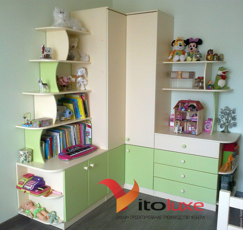угловой шкаф в детскую фото