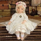 Куклы и игрушки handmade. Livemaster - original item Yanochka, textile, collectible doll boudoir interior. Handmade.