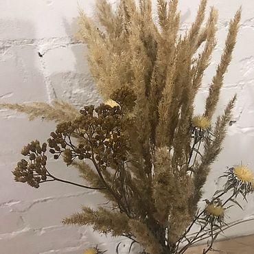 Цветы и флористика. Ярмарка Мастеров - ручная работа Букет из природных сухоцветов. Handmade.