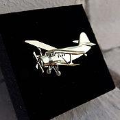 Украшения handmade. Livemaster - original item Brooch Airplane. An 2, different models. Silver 925 sample. Handmade.