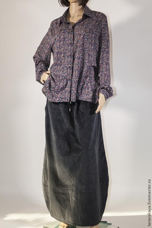 Блузки ручной работы. Ярмарка Мастеров - ручная работа. Купить Рубашка Роза в дымке. Handmade. Рубашка, стильная рубашка