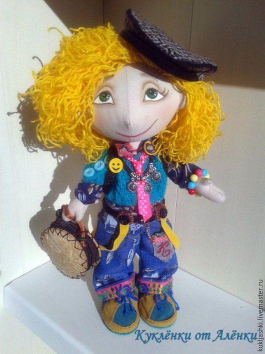 Куклы тыквоголовки ручной работы. Ярмарка Мастеров - ручная работа. Купить Катюшка. Кукла текстильная, интерьерная, тыквоголовка.. Handmade. комбинированный