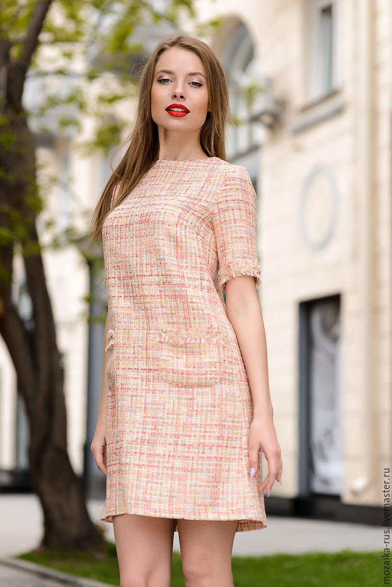 Платья с выкройками в стиле шанель