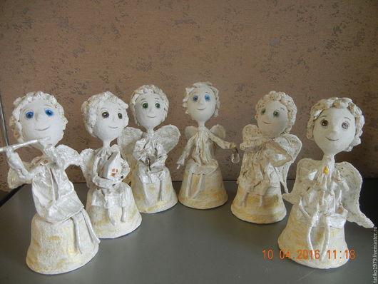 Коллекционные куклы ручной работы. Ярмарка Мастеров - ручная работа. Купить ангелов много не бывает.... Handmade. Белый, ангел-хранитель