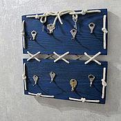 Для дома и интерьера ручной работы. Ярмарка Мастеров - ручная работа Ключница Mar adentro. Handmade.