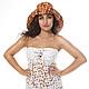 """Шляпы ручной работы. Ярмарка Мастеров - ручная работа. Купить Шляпа в любом цвете на любой размер """"Солнечная рептилия"""" из джинса. Handmade."""