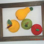 Куклы и игрушки ручной работы. Ярмарка Мастеров - ручная работа Яблоки и груши (вязаные). Handmade.