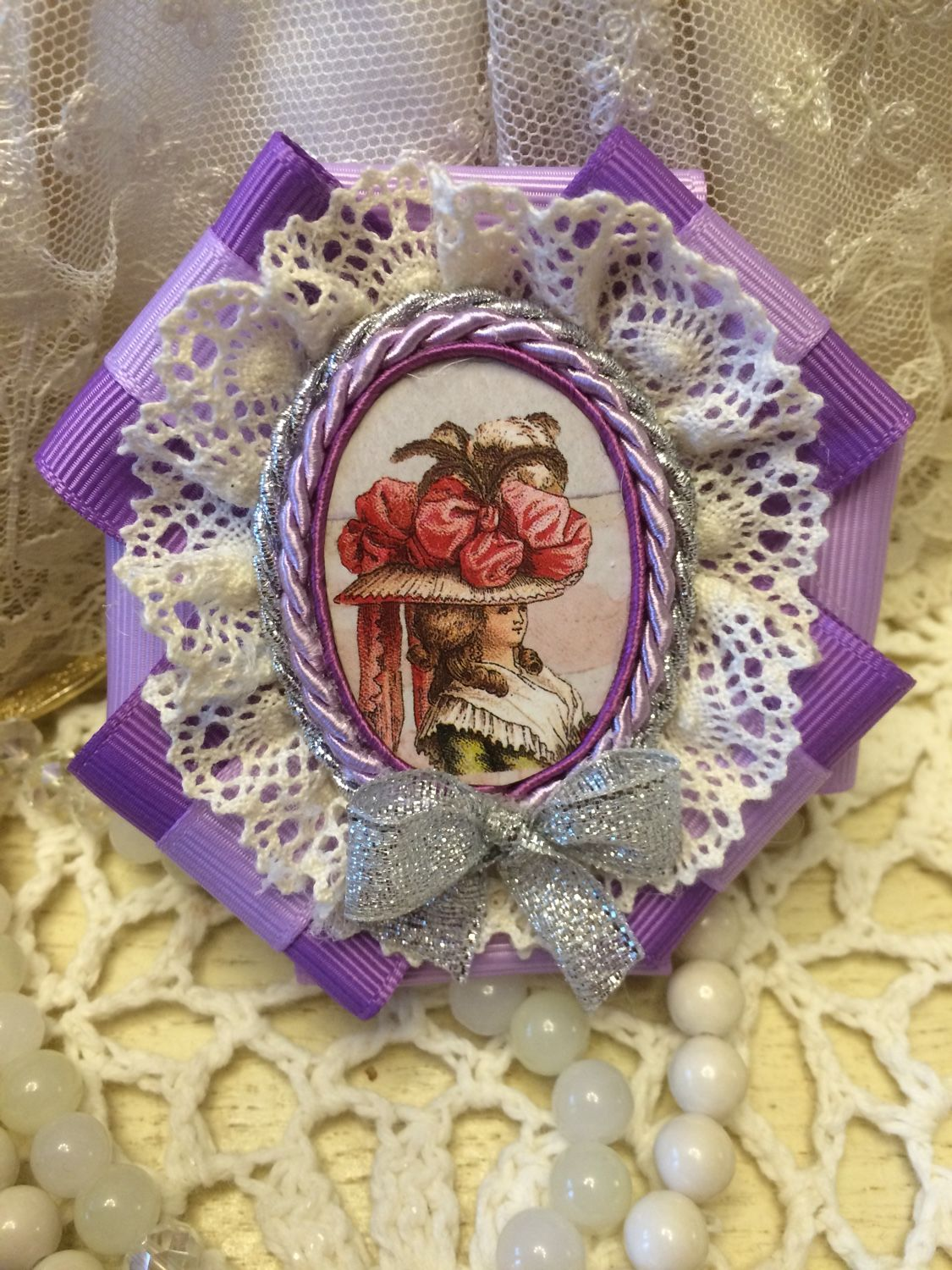 Brooch-order from the series MADAME BOVARY, Brooches, Kaluga,  Фото №1