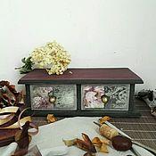 """Для дома и интерьера ручной работы. Ярмарка Мастеров - ручная работа Короб для кухни """"Одри"""". Handmade."""