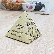 Дизайн и реклама ручной работы. Ярмарка Мастеров - ручная работа коробка подарочная. Handmade.