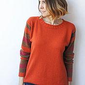 Одежда ручной работы. Ярмарка Мастеров - ручная работа Кашемировый пуловер Осень. Handmade.
