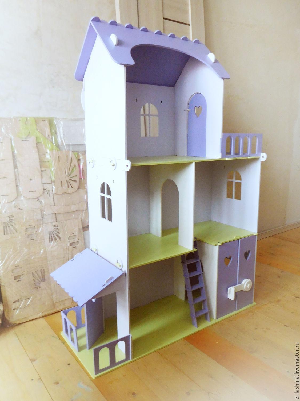 Кукольный дом из дсп своими руками