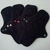 handmade. Livemaster - original item Set of reusable pads