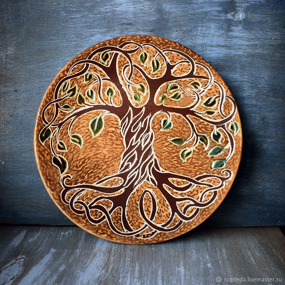 Tree of life - plate, Plates, Moscow,  Фото №1