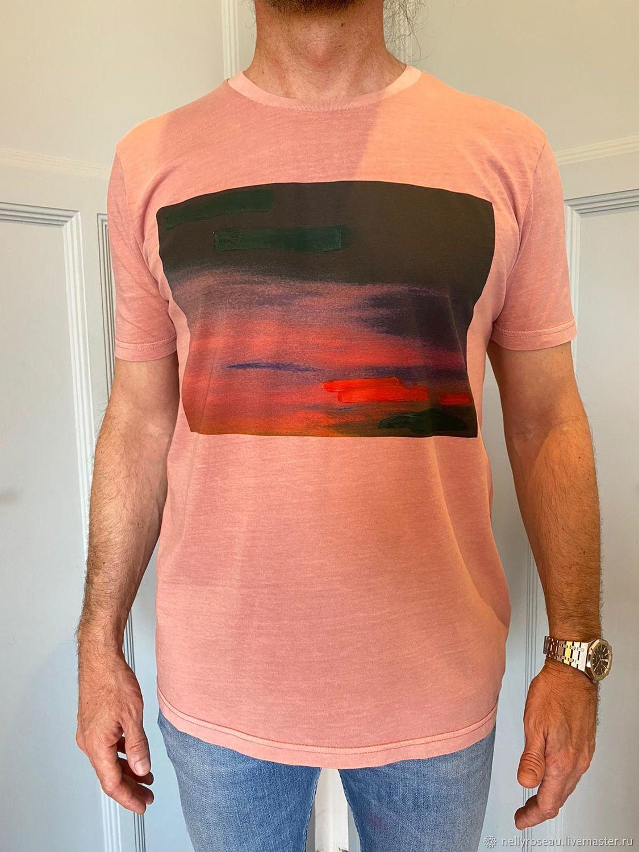 Дизайнерские футболки для мужчин, Футболки майки мужские, Ницца,  Фото №1