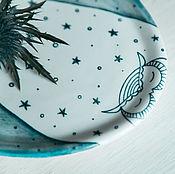 Посуда handmade. Livemaster - original item A Midsummer night`s dream... Plate handmade pottery. Handmade.
