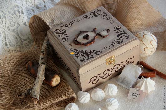 Персональные подарки ручной работы. Ярмарка Мастеров - ручная работа. Купить Чайный набор с пожеланиями. Handmade. Пожелания, подарочный набор