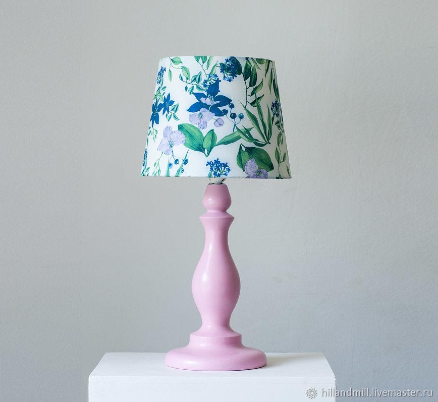 """Освещение ручной работы. Ярмарка Мастеров - ручная работа. Купить Настольная лампа """"Grace"""". Handmade. Лампа, лампа из дерева"""