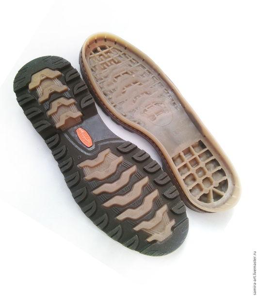 """Валяние ручной работы. Ярмарка Мастеров - ручная работа. Купить Подошва для обуви """"Vancouver"""". Handmade. Подошва, подошва для сапог, vancouver"""
