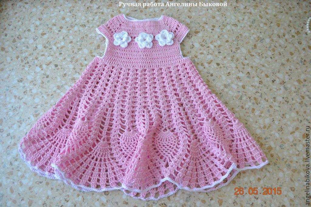 Куплю платье детское крючком