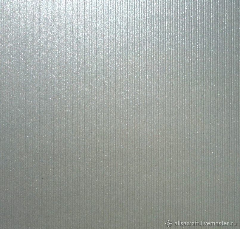 АКЦИЯ - серебристый металлик в полоску, А4, Бумага, Москва,  Фото №1