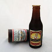 """Косметика ручной работы. Ярмарка Мастеров - ручная работа Мыло ручной работы """"Бутылка пива"""". Handmade."""