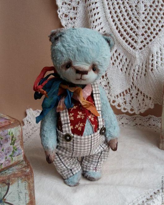 Мишки Тедди ручной работы. Ярмарка Мастеров - ручная работа. Купить Стёпа. Handmade. Мятный, купить мишку Тедди