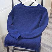 Одежда ручной работы. Ярмарка Мастеров - ручная работа Шерстяной свитер ручной вязки. Handmade.