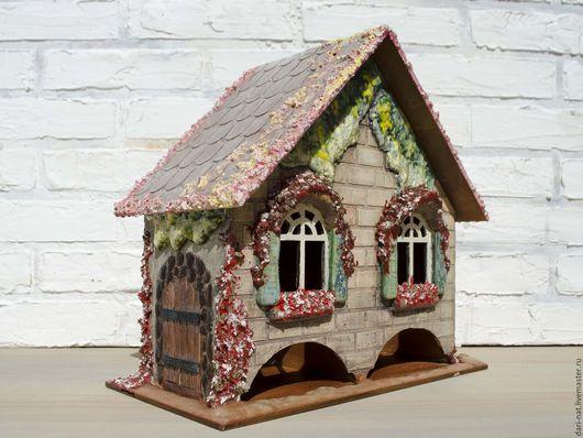 """Кухня ручной работы. Ярмарка Мастеров - ручная работа. Купить Чайный домик """"Карамельный пряник"""". Handmade. Комбинированный, винтаж"""