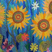 Картины и панно handmade. Livemaster - original item Embroidery .Sun aroma. Handmade.