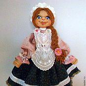 Для дома и интерьера ручной работы. Ярмарка Мастеров - ручная работа Кукла пакетница уехала домой. Handmade.