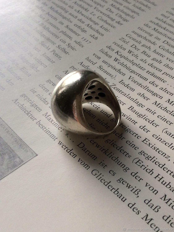 Винтаж: Кольцо серебряное «Финальная точка», Кольца винтажные, Москва,  Фото №1