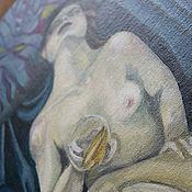 Картины и панно ручной работы. Ярмарка Мастеров - ручная работа The tempting veil. Handmade.