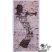 "Картины и панно handmade. Livemaster - original item Copy of Copy of Panels made of cork ""Sailor». Handmade."