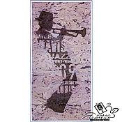 """Картины и панно handmade. Livemaster - original item Cork panel art """"JAZZ"""". Handmade."""