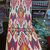 Материалы для творчества handmade. Livemaster - original item Uzbek cotton ikat hand weaving. FM139. Handmade.