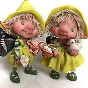 Куклы и игрушки ручной работы. Ярмарка Мастеров - ручная работа Гретта и Алан. Handmade.