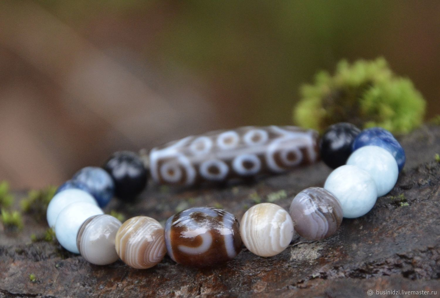 Bracelet with beads JI-personal amulet for good luck, Amulet, Pereslavl-Zalesskij,  Фото №1