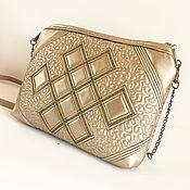 Сумки и аксессуары handmade. Livemaster - original item Women`s handbag, clutch, cross-body. Handmade.