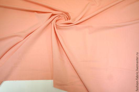 Шитье ручной работы. Ярмарка Мастеров - ручная работа. Купить Костюмно-плательная поливискоза розовый персик  9033859 Италия. Handmade.